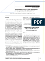 Tendencias y Evolución Investigativa Sobre Movilidad Sostenible.
