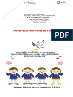 PROYECTO EDUCATIVO 2017-2018
