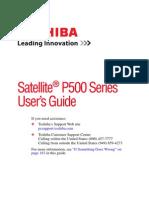 Satellite P500 Series userguide