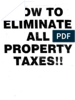 Eliminate Property Taxes I