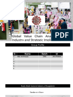 GVC Analysis of RMG indutry in Bangladesh