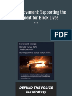 Supporting Movement for Black Lives (1)