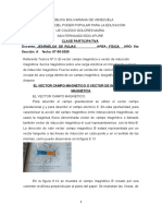 clase de física 5to A 07-05-2020 vector campo magnetico
