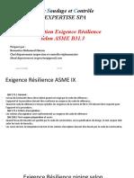 Présentation Impact test ASME B 31.3