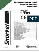 TB-80 REPAIR MANUAL