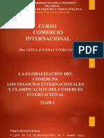 CLASE 2  Globalizacion y Negocios Internacionales
