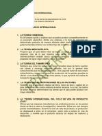1. TEORIAS DEL COMERCIO INTERNACIONAL