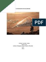 Artículo Física colonizacion espacial