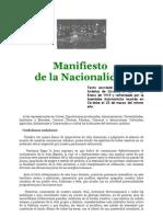 Manifiesto de la Nacionalidad - Manifiesto Andalucista de Cordoba de 1919