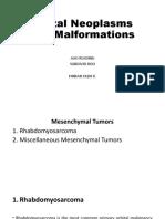 AAO ROO FIQ-Orbital Neoplasms and Malformations-Mesenchymal Tumors
