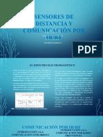 SENSORES DE DISTANCIA Y COMUNICACIÓN POR IR-RF
