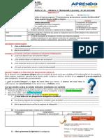 Guía de actividad  No 24 1er. Gdo  radio - 05 DE OCTUBRE-SANTA ISABEL