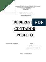 TRABAJO NRO 5 DEBERES DEL CONTADOR PUBLICO