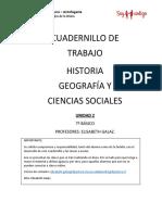 7º B Cuadernillo Historia Unidad 2 Profesora Elisabeth Galaz