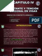 TRABAJO 02_ GRUPO Nro(9)_LOS INGENIEROS_TEMA_Cortante y Tensión diagonal en vigas.ppt