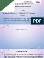PROYECTO CIENTIFICO- PATRIMONIO C. 3º C