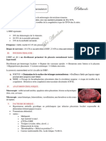 Hémorragie rétro placentaire