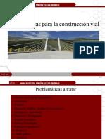 problematica en la construccion vial