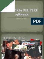 crisis desde 1980 hasta 1990
