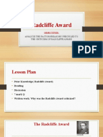 Radcliffe Award