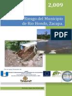 Analisis de riesgo Municipal de Reio Hondo