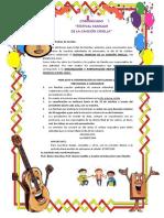 Comunicado cancion criolla-PADRES