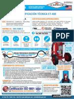 Ficha Tecnica Amerex Polvo Quimico Seco ABC 125 libras rodante modelo 488-Osinergmin (1).pdf