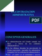LA CONTRATACION  ADMINISTRATIVA UNAB.ppt