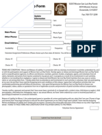 Volunteer Registration at MSLRP