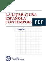 LA LITERATURA ESPAÑOLA CONTEMPORÁNEA
