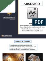ARSÉNICO - EXPOSICIÓN - TOXICOLOGÍA. N2.