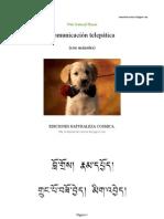 Comunicación telepática con animales
