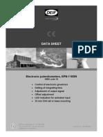 DATA SHEET EPN-110DN,-2