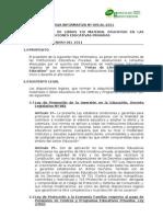 H I  Nº 005-AL-2011 FERIA DE LIBROS Y MATERIAL EDUCATIVO (03 02 11)