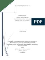 TRABAJO ESCRITO NTC ISO 9001-2015