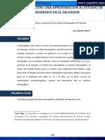 Dialéctica y población