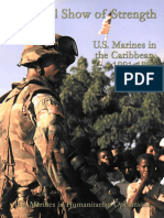 A Skillful Show of Strength U.S. Marines in the Caribbean 1991-1996