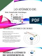 modelo atomico de naturales