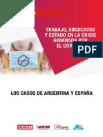 Trabajo sindicatos y Estado en la crisis Centro CIFRA