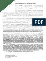 TRABAJO REMOTO Y EL DERECHO A LA DESCONEXIÓN DIGITAL