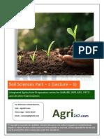 Soil Sciences Lecture - 1.pdf