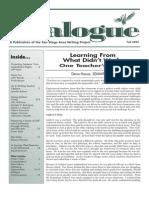 Dialogue Fall 2005