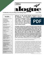Teacher Research Edition 2003