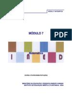 Módulo 7 de Matemática da 11ª e 12ª classe em PDF.pdf
