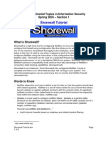 Shorewall Tutorial