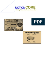 Catalytic Converter weights and pgm content