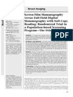 Screen-Film Mammography