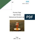 ADB - Runway Edge High Intensity Bidirectional Elevated Light - BPE-2-150