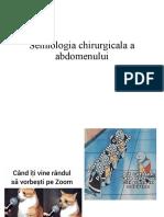 semiologia chirurgicala perete abdominal lp online