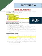 1 PRINCIPIO DEL TALLADO